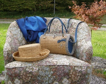 Small town Country Style bag in Vienna straw