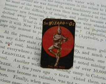 Wizard of Oz brooch lapel pin Broadway poster Tin Man