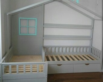 Toddler bed montessori bed exclusively bed twins bed playhouse