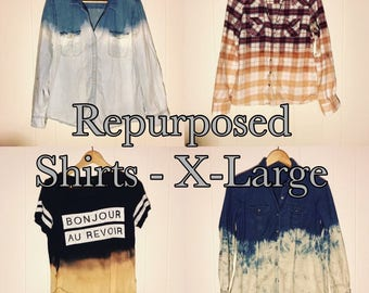 Repurposed Button Ups (X-Large)