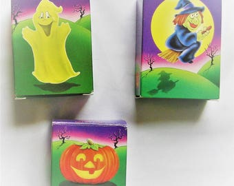 Goofy Goblins Crayon Soap Set of 5 Ghost, Witch, Pumpkin