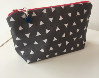 Zipped pouch project bag (small)