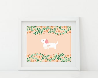 Darby + Dot™ - Mom + Me  - Art Print