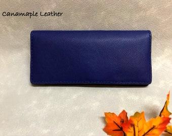 Long Size Bi-Fold Wallet