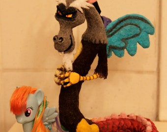 Sculpted Discord from My Little Pony: Friendship is Magic