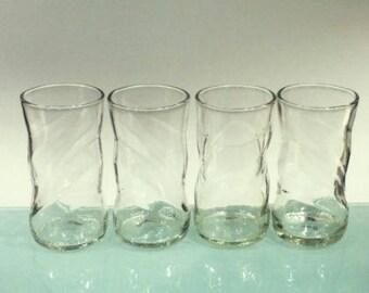 YAVA Glass - Upcycled PEPSI Bottle Glasses (Set of 4)