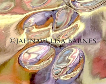 JOY BUBBLES . Note Cards . Hand Printed Originals . Wall Design . Developing Light Photographic Arts . jahnavi . i2iPhoto
