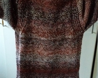 Sweater Robin 46/48 Mens Rusty Brown Brown