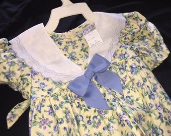 Vintage Ruth of Carolina Girl's Dress