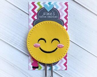 Emoji Paper Clip - Planner Paper Clip - Planner Paperclip - Planner Accessories - Planner Feltie - Emoticon Paper Clip - Emoji Feltie