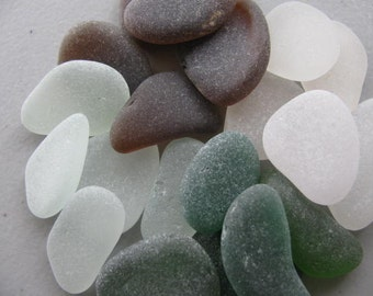 Assorted Lot Sea Glass Beach Glass Jewelry Supply Genuine Large Bulk 12 Seaglass Lot Jewelry Making Supply