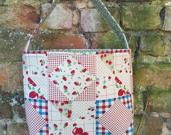 A Pretty Reversible Handmade Bag