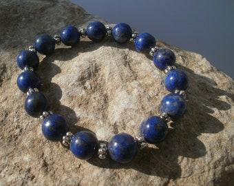 Lapis Lazuli Bracelet 10 mm #036