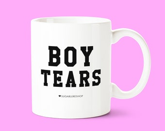 BOY TEARS | White Coffee Mug