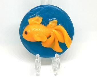 The Pet Goldfish - Orange goldfish soap