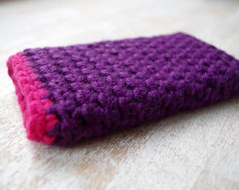 universal hand knit  case external disc cell phone iphone smartphone slip