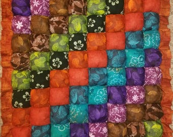 BEAUTIFUL Tummy Time Baby Bubble Quilt