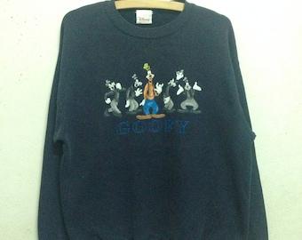 Vintage 90's Goofy Disney Store Sweatshirts
