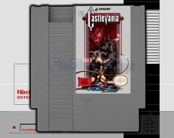 """SPECIAL ORDER! """"Vs. Castlevania"""" Unreleased Nintendo NES 8-bit Arcade Version!"""