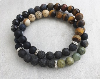 The Dude / Aromatherapy / Essential Oil Diffuser Bracelet