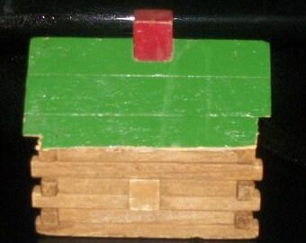 Primitive Minature Log Cabin