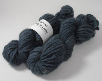Old Navy Semi Solid Chunky Pure Wool 50g Blue