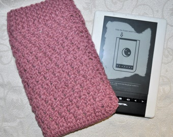 Kindle/Nook/eBook Reader Sleeve - Pink
