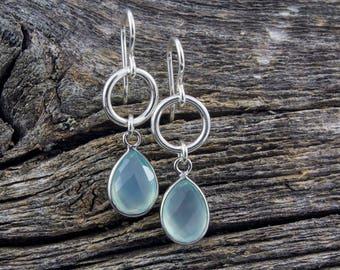 Amazonite Spirit Stone Earrings