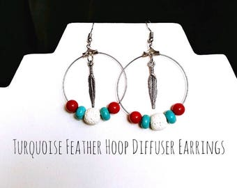 Hoop Diffuser Earrings