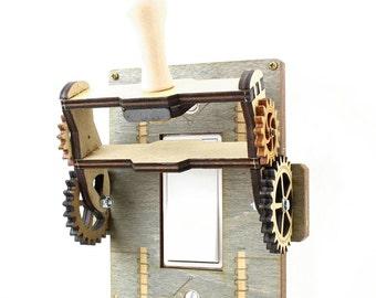 Steampunk Rocker Old fashion Knife Switch - 8101A