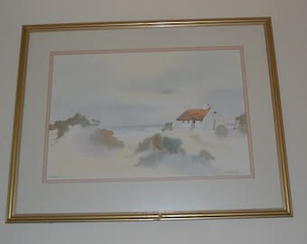 A. Friedrich - Arniston (South Africa) Original Watercolour