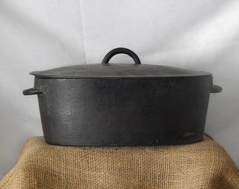 PRE**1909**Cast Iron Dutch Oven**ANTIQUE***