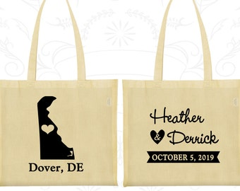 Wedding Welcome Bags, Tote Bags, Wedding Tote Bags, Personalized Tote Bags, Custom Tote Bags, Wedding Bags, Wedding Favor Bags (107)