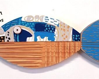 Fish Sculpture, Name: Ocean Bream (No.4) 2017