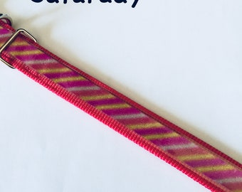 """18"""" Cranberry Red Base Collar + 3 Looks"""