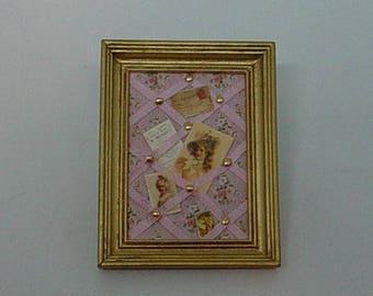 Dollhouse Miniature 1:12 Scale – Memo Board
