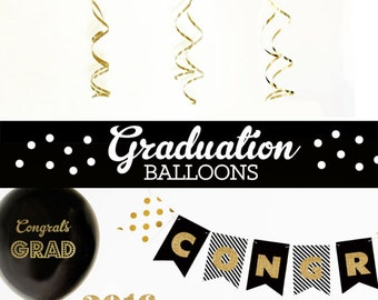 Graduation Gift Grad Gifts Highschool Graduation Gift College Graduation Gift Graduation Gift Ideas (EB3110GRD) SET of 3 Balloons