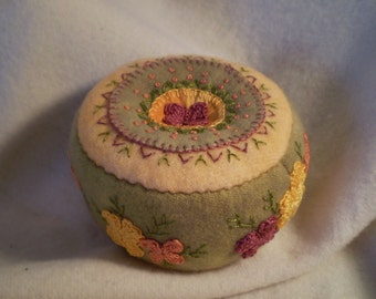 Citrus Flower Pincushion