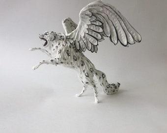 Figurine the Winged Snow Leopard (IRBIS)