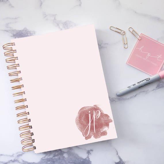 Personalised Planner Custom Planner Daily Planner - Custom daily planner