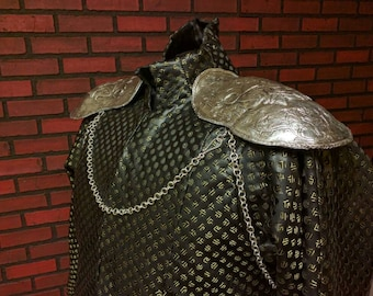 Cersei Lannister inspired shoulder pads for coronation gown, season 6 finale, Cersei cosplay accessories ,  GOT, shoulder armor