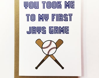Jays Game - Father's Day Card