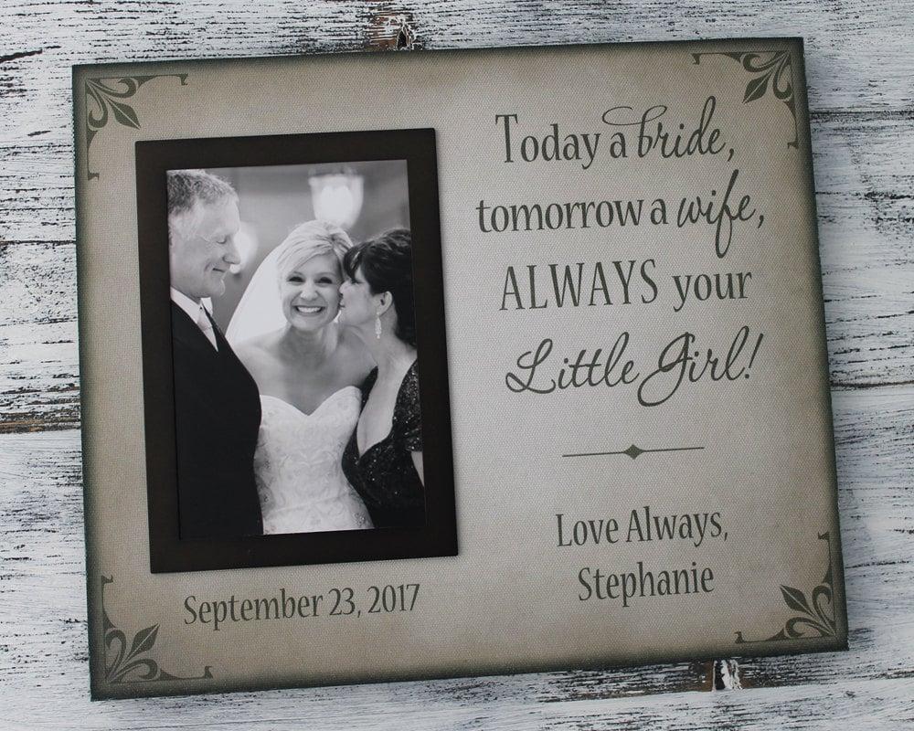 Personalisierte Hochzeits-Bilderrahmen handgefertigte