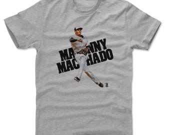 Manny Machado Shirt | Baltimore Baseball | Men's Cotton T Shirt | Manny Machado Draw K