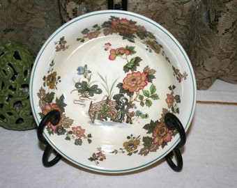 Wedgwood Eastern Flowers//Coupe Cereal Bowl//Made in England//Vintage & Wedgwood china   Etsy