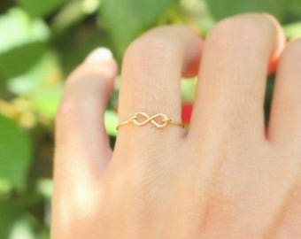 Infinity Ring -  Best friend infinity ring