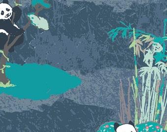 Pandagarden Naptime - PANDALICIOUS by Katarina Roccella for Art Gallery Fabrics PND 20130