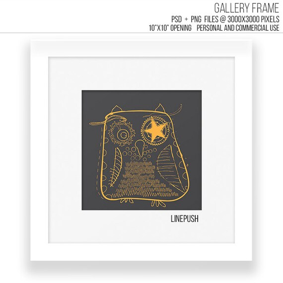 white modern minimalist square gallery frame template classic frame mock up in psd png art prints photo mockup templates white - White Gallery Frames
