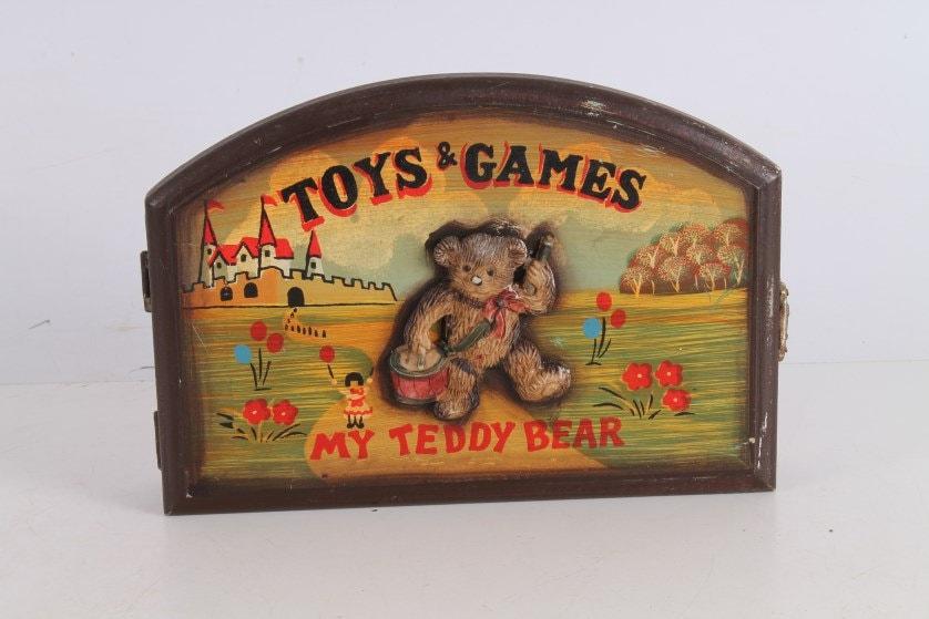 Vintage Old Toys & Games My Teddy Bear Children Key Holder
