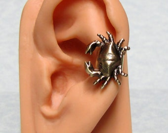 Crab Nautical Ear cuff